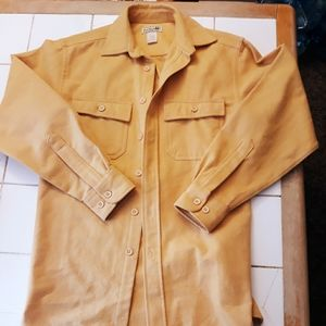 LL Bean 100% cotton button down shirt